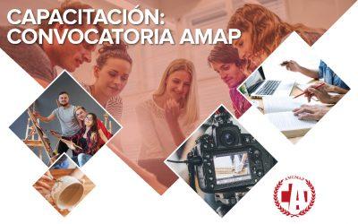 Convocatoria AMUMAP 2020 para docentes