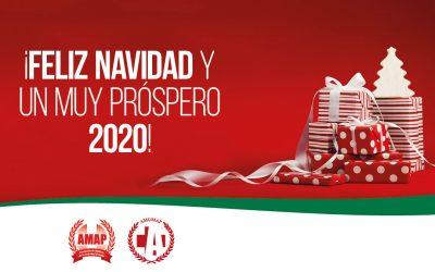¡Felices fiestas y un próspero 2020!