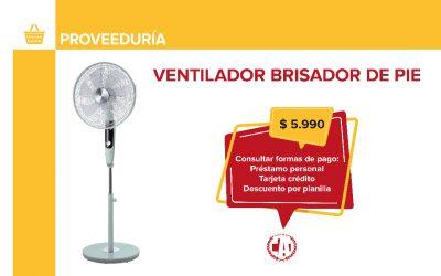 Importantes descuentos en ventiladores