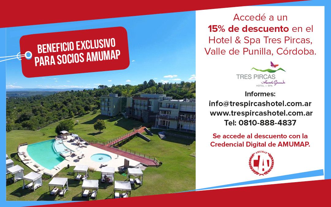 Hotel & Spa Tres Pircas (Valle de Punilla, Córdoba)