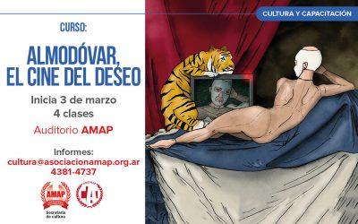 Curso de cultura: Almodóvar, el cine del deseo