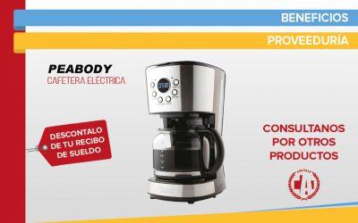 Cafetera eléctrica – Marca Peabody