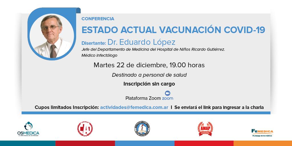 Conferencia sobre vacunas y COVID-19