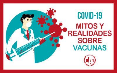 COVID-19. Mitos y realidades sobre vacunas