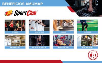 Sportclub: Importante descuento en categoría socio vip