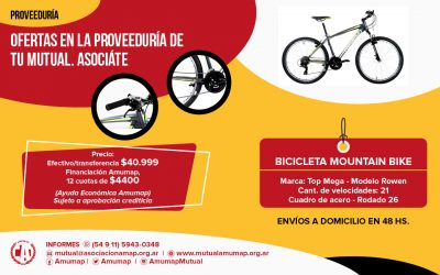 Bicicleta Mountain Bike – Marca Top Mega