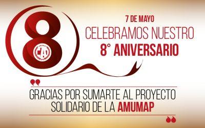 Celebramos nuestro 8vo Aniversario