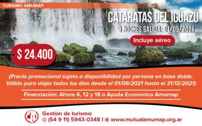 Turismo Amumap: Cataratas del Iguazú