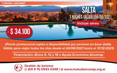 Turismo Amumap: Destino Salta